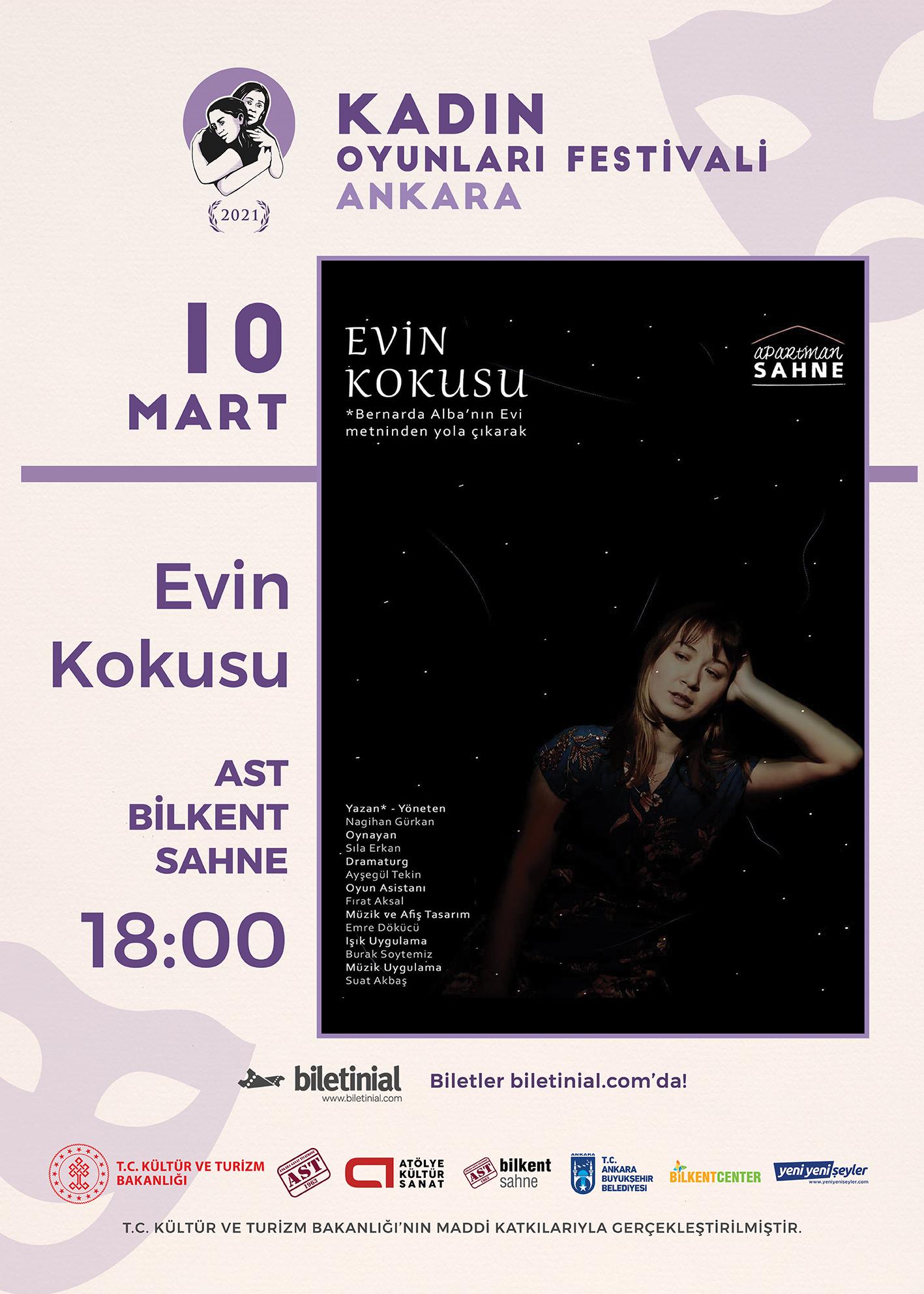 KTB - KOF 2021 Ankara - 10 Mart - Evin Kokusu