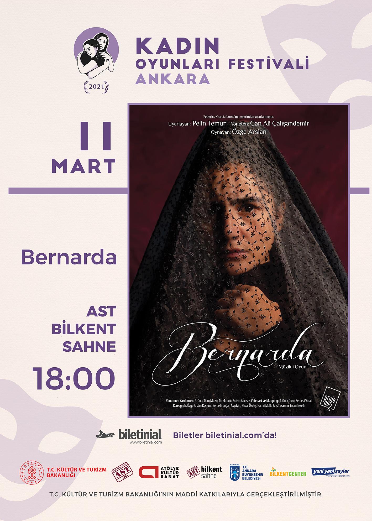 KTB - KOF 2021 Ankara - 11 Mart - Bernarda