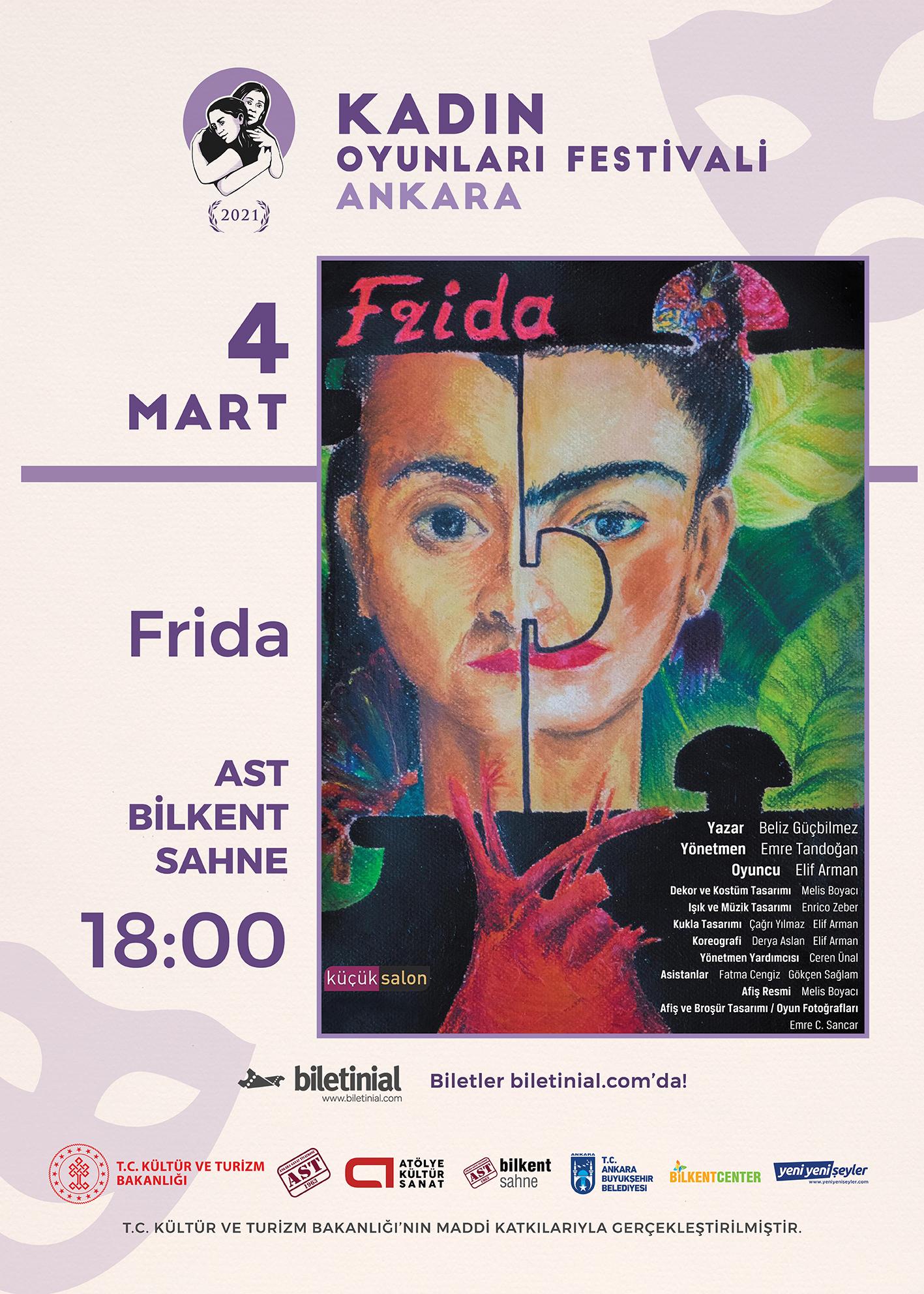 KTB - KOF 2021 Ankara - 4 Mart - Frida
