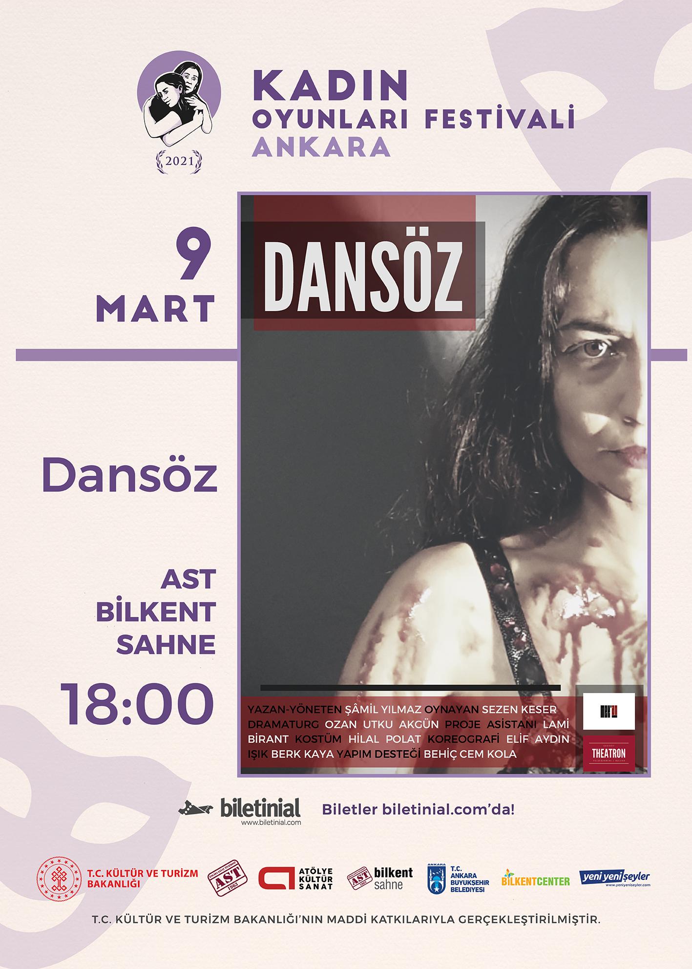 KTB - KOF 2021 Ankara - 9 Mart - Dansöz