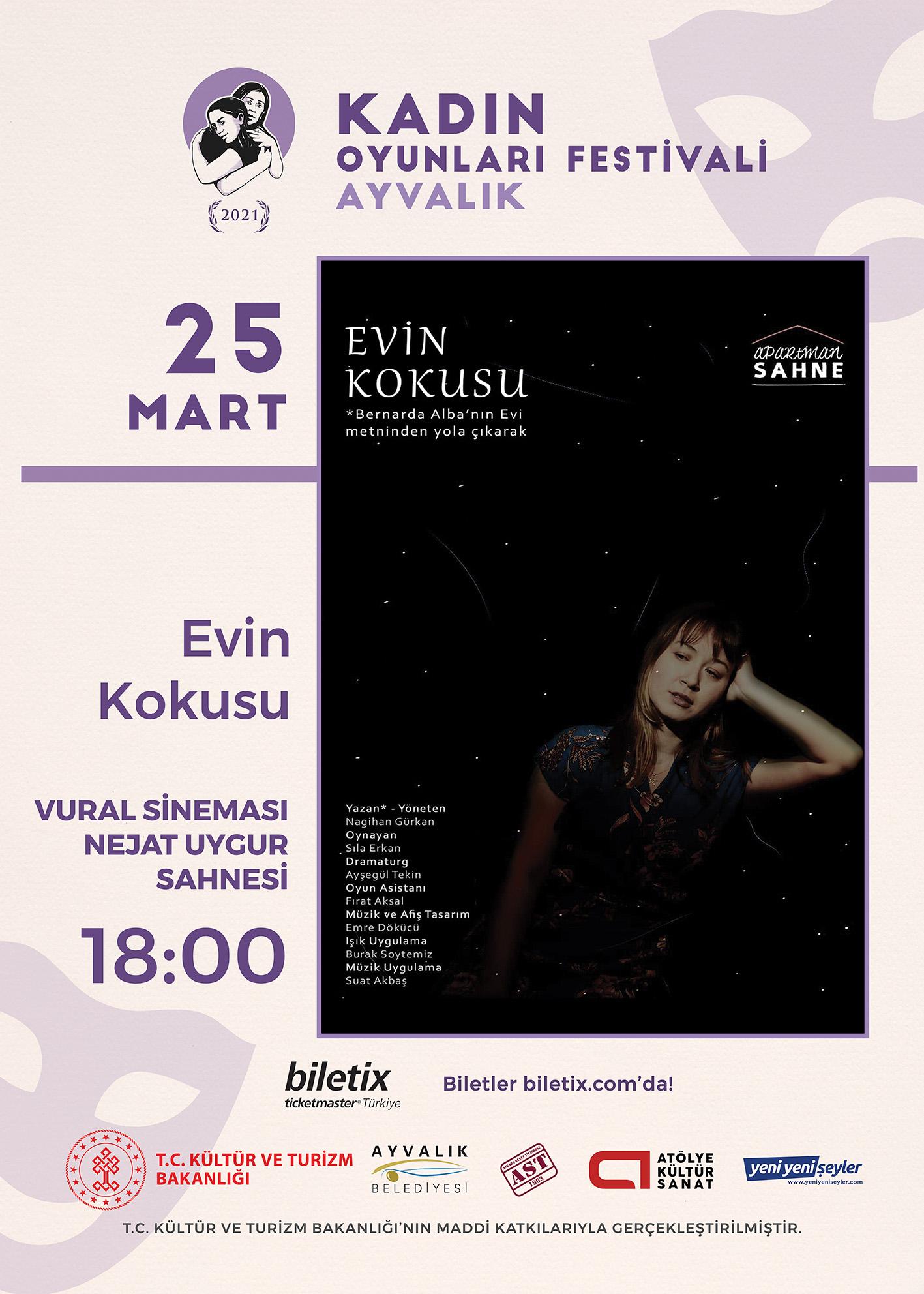 KTB - KOF 2021 Ayvalık - 25 Mart - Evin Kokusu